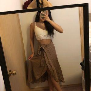 Aritzia Eleta Midi Skirt